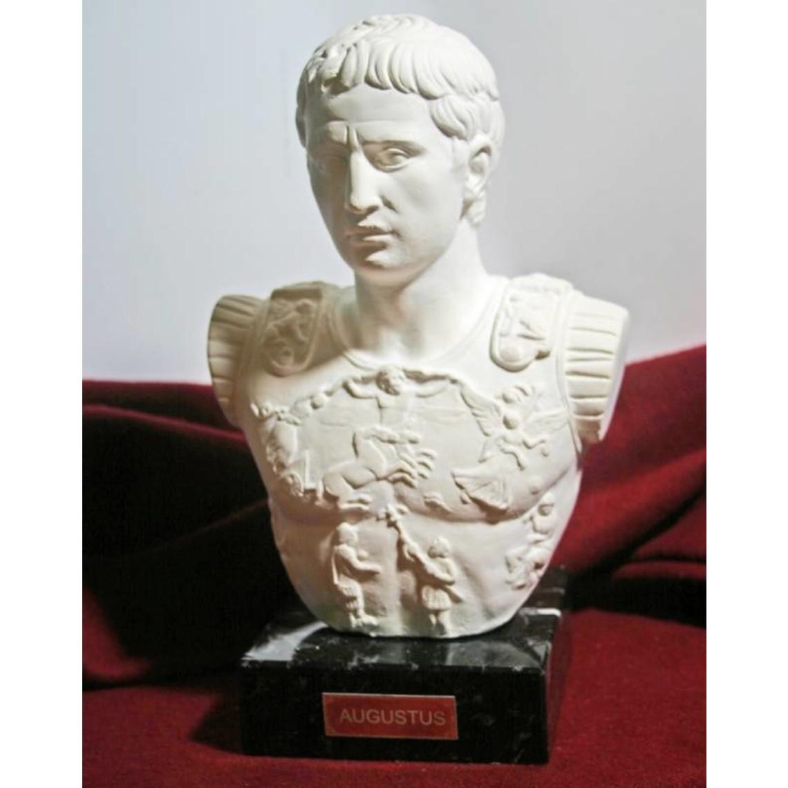 Busto emperador Augustus Prima Porta
