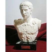 Romeinse glazen Amphora wit