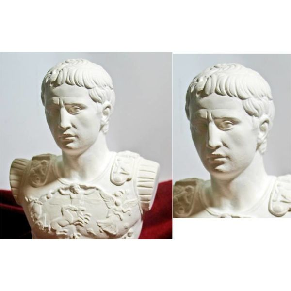 Bust kejser Augustus Prima Porta