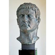 Brązowe popiersie ogóle Marcus Agrippa