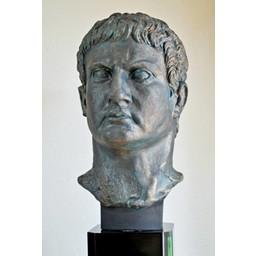 Bronze bust general Marcus Agrippa