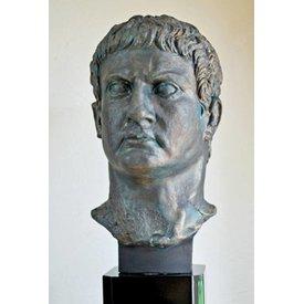 Bronze buste generel Marcus Agrippa