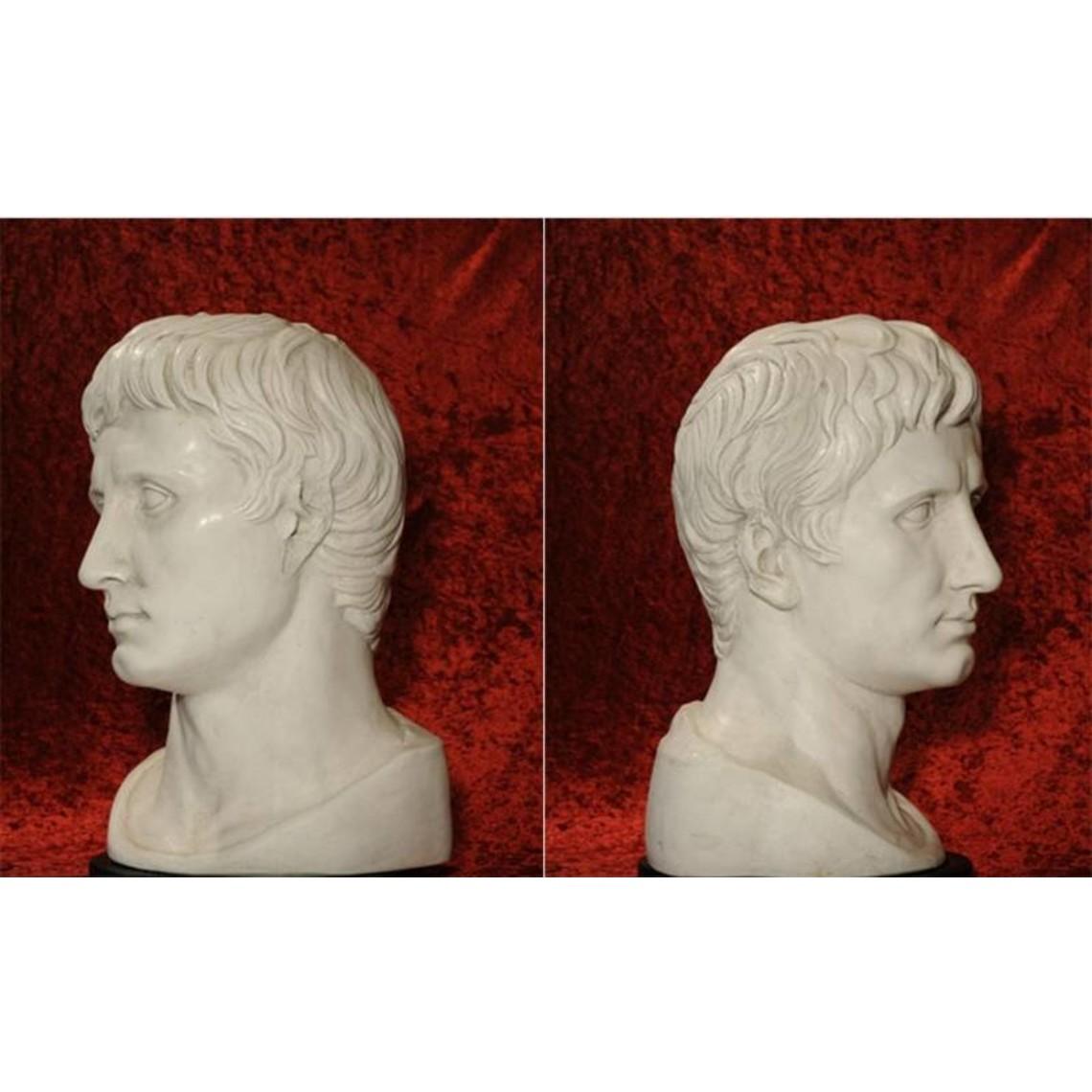 Bust emperor Augustus Prima Porta large