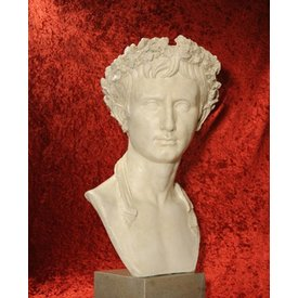 Buste de l' empereur Auguste