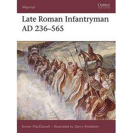 Osprey: yngre romersk infanterist AD 236-565