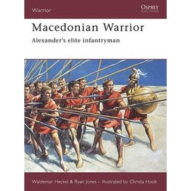 Osprey: Warrior Macedónio - de Alexander infantaria de elite