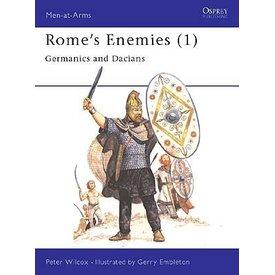Osprey: Rzym `wrogów (1) - Germanics i Dakowie