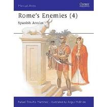 Osprey: Rzym `s Enemies (4) - Armie hiszpański