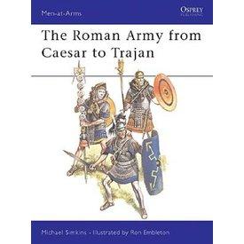 Osprey: o exército romano de César a Trajano