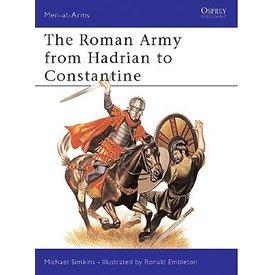 Osprey: o exército romano de Adriano para Constantine