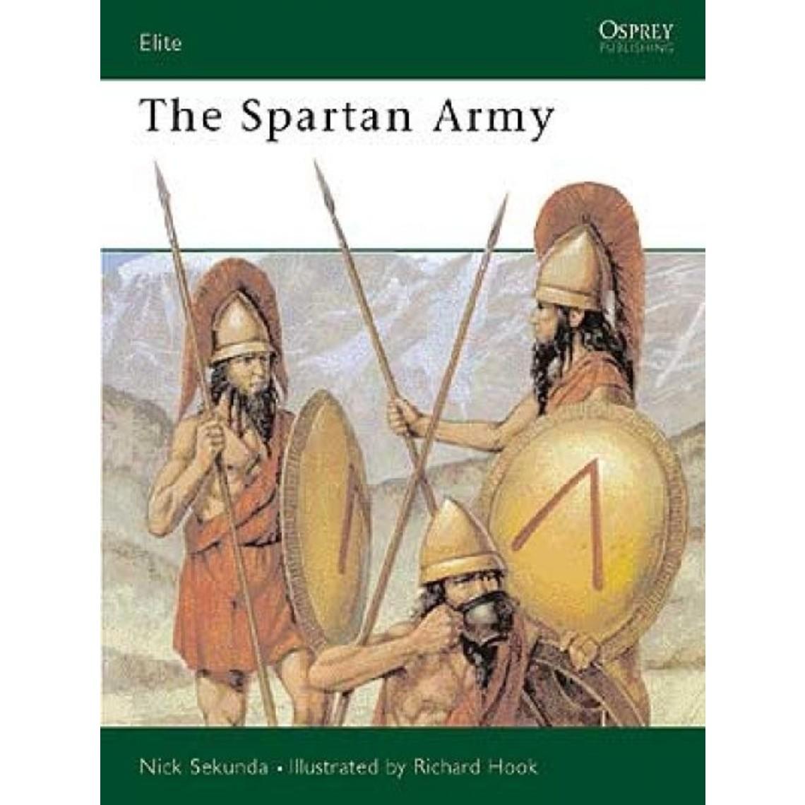 Osprey: die Spartan-Armee
