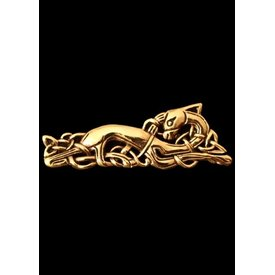 Brooch Celtic goose