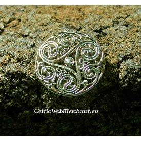 Keltisk broche Triskelion