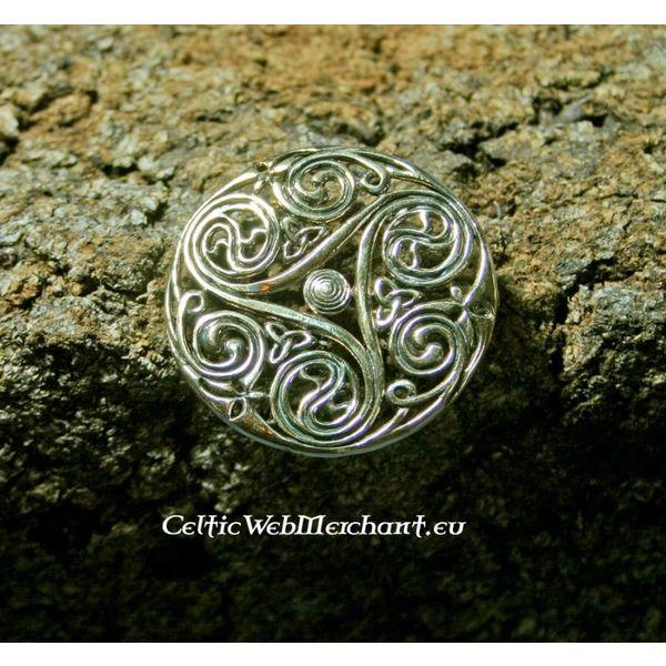 Broche Celta triskelion