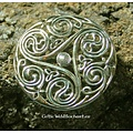 Broche celtique, Triskèle