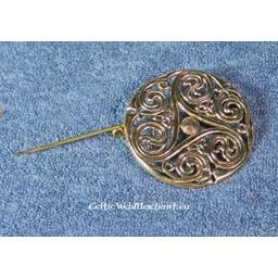 Celtic brosch triskelionen