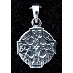 Celtic krzyż srebrny