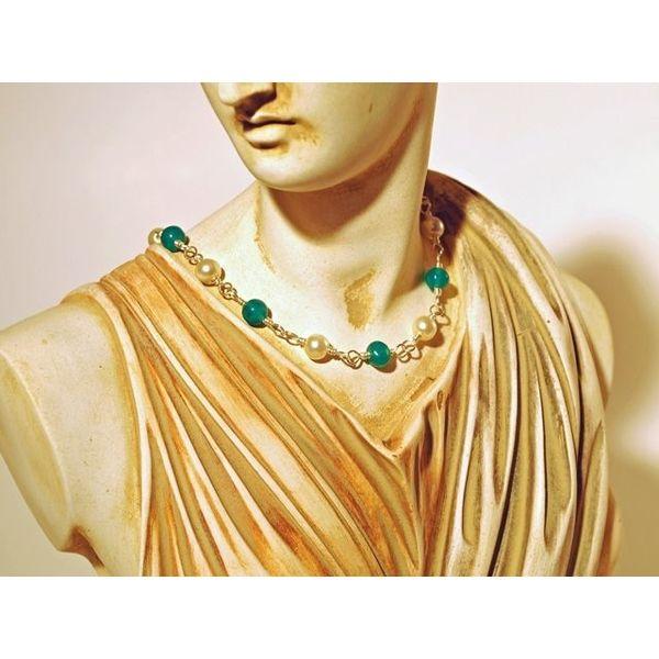 Roman pärlhalsband Claudia