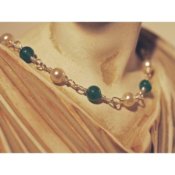 Collier de perles romain Claudia