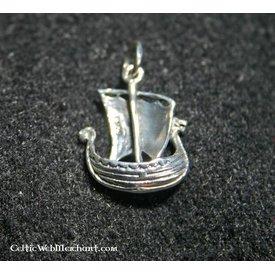 Silber Wikingerschiff