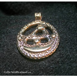 Uppland Viking amulet bronze