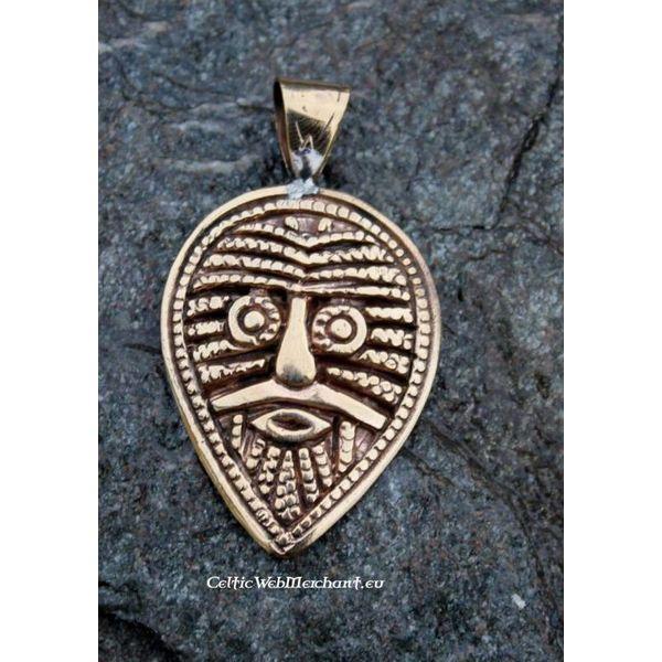 Pendentif Viking Visage, Birka