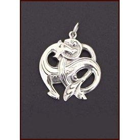Silber Midgard Schlange