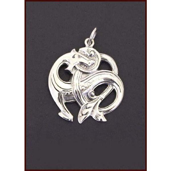 Sølv Midgård slange