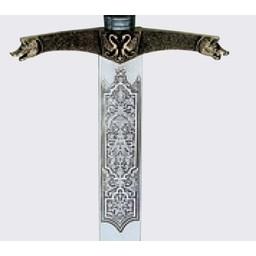 Heraldic sword