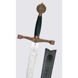 15 wieku hiszpański dekoracja miecz