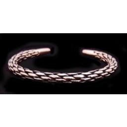 Geflochtene Bronzearmband