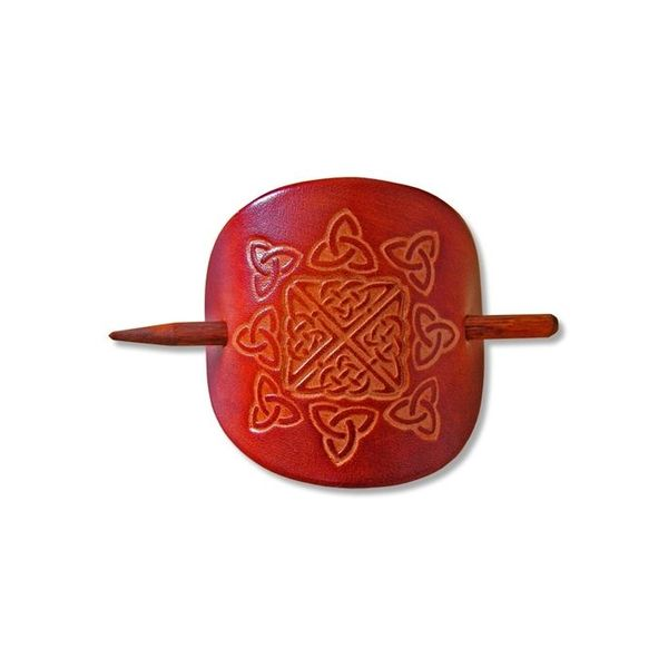 Celtic hairpin Nuala brown