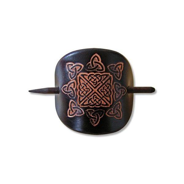 Celtic szpilka Nuala czarny