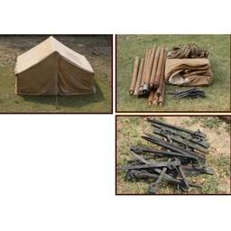 Skóra rzymski legionista namiot