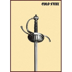 Cold Steel Rapier con guardia a conchiglie
