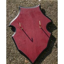 Hanging shield for swords