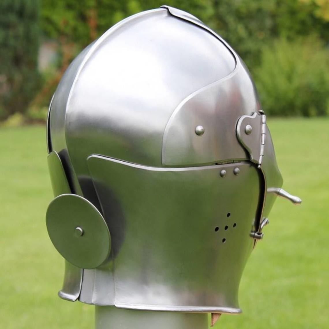Italiaanse gesloten helm