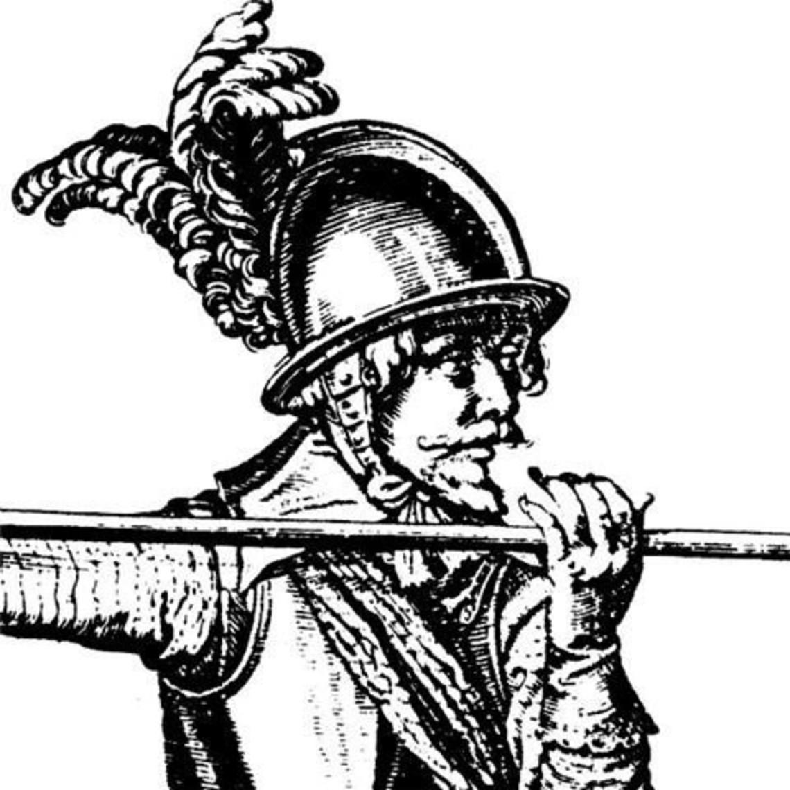 Marshal Historical Casco de piqueros del siglo XVII