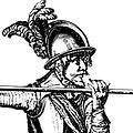 Marshal Historical Elmo di picchieri del XVII secolo