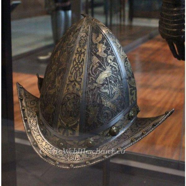 Milanese cabasset Musée de l`armée
