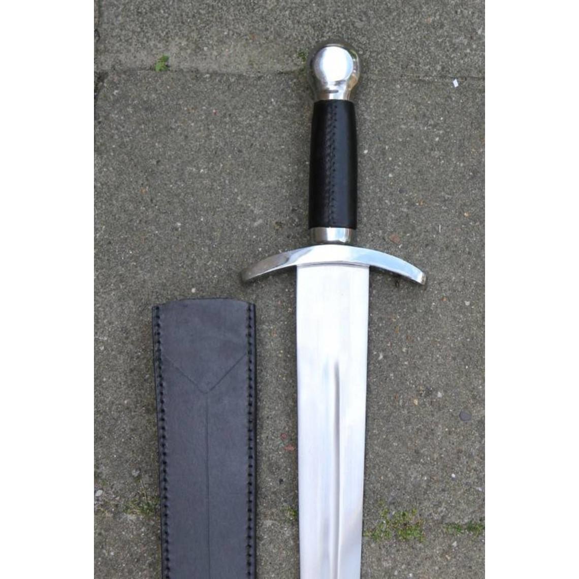 Deepeeka Middeleeuws kort zwaard (gevechtsklaar)