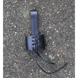 Belt holder for dagger, black
