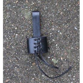 Soporte de cinturón para daga, negro