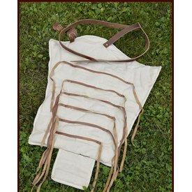 Manica textil de gladiador