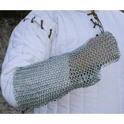 Kettenhemd Armschutz, verzinkt