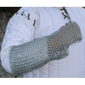 Ulfberth Chain mail arm beskyttelse, forzinket