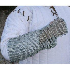 Ulfberth Protezione del braccio in cotta di maglia, zincato