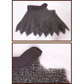 Ulfberth Chain mail aventail, round rings - round rivets, 8 mm