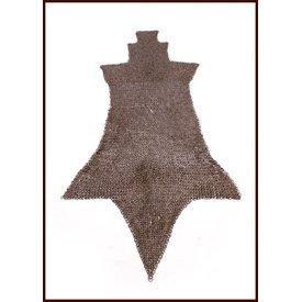 Ulfberth Ringbrynjor chausses, Platta ringar - Runda nitar, 8 mm