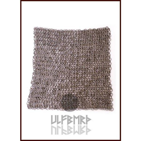 Ulfberth Roman stykke kæde mail, 20 x 20 cm